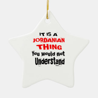 IT IS JORDANIAN THING DESIGNS CERAMIC ORNAMENT