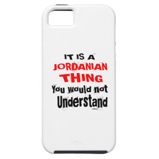IT IS JORDANIAN THING DESIGNS iPhone 5 CASE