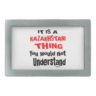 IT IS KAZAKHSTANI THING DESIGNS BELT BUCKLES