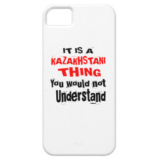 IT IS KAZAKHSTANI THING DESIGNS iPhone 5 CASE