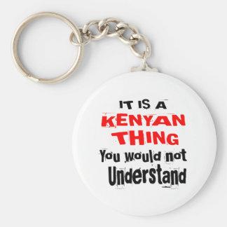 IT IS KENYAN THING DESIGNS KEYCHAIN