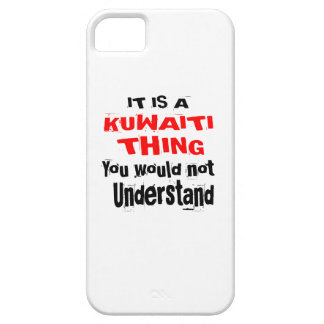 IT IS KUWAITI THING DESIGNS iPhone 5 COVER
