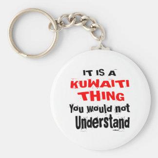 IT IS KUWAITI THING DESIGNS KEYCHAIN
