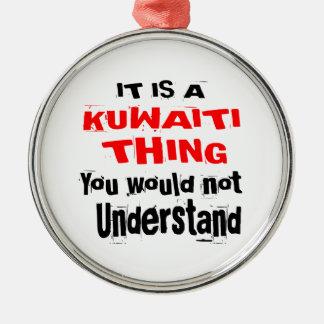 IT IS KUWAITI THING DESIGNS METAL ORNAMENT