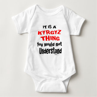 IT IS KYRGYZ THING DESIGNS BABY BODYSUIT