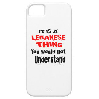 IT IS LEBANESE THING DESIGNS iPhone 5 CASES