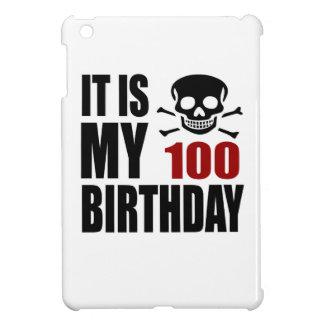 It Is My 100 Birthday Designs iPad Mini Cases