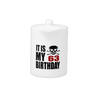 It Is My 63 Birthday Designs