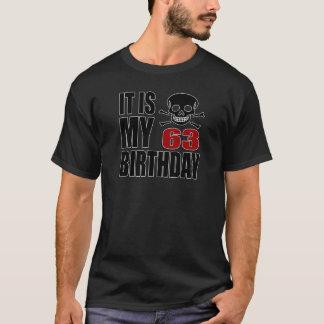It Is My 63 Birthday Designs T-Shirt