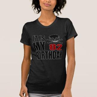It Is My 82 Birthday Designs T-Shirt