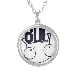 it is not bug  it is feature silver plated necklace