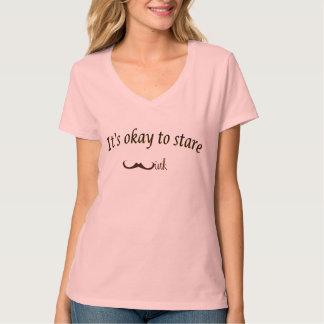 It is okay to stare  wink ..tshirt t shirt