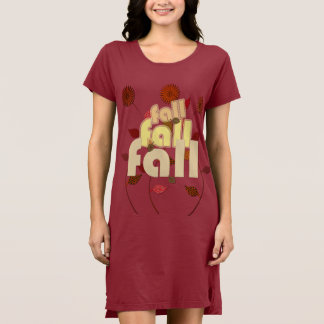 It is Only Fall Floral Dress