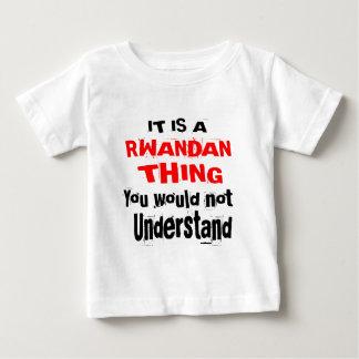 IT IS RWANDAN THING DESIGNS BABY T-Shirt