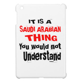 IT IS SAUDI ARABIAN THING DESIGNS iPad MINI COVERS
