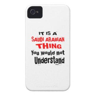IT IS SAUDI ARABIAN THING DESIGNS iPhone 4 CASE