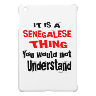 IT IS SENEGALESE THING DESIGNS iPad MINI COVER