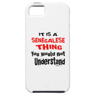 IT IS SENEGALESE THING DESIGNS iPhone 5 COVER