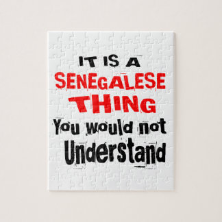 IT IS SENEGALESE THING DESIGNS JIGSAW PUZZLE