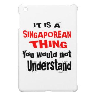 IT IS SINGAPOREAN THING DESIGNS iPad MINI COVERS