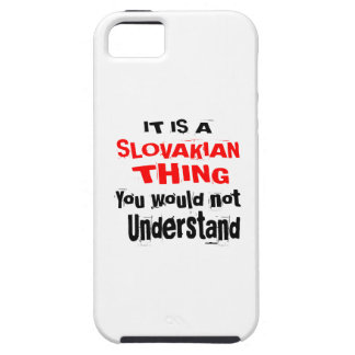 IT IS SLOVAKIAN THING DESIGNS iPhone 5 CASE