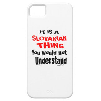 IT IS SLOVAKIAN THING DESIGNS iPhone 5 COVER