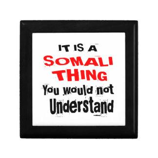 IT IS SOMALI THING DESIGNS GIFT BOX