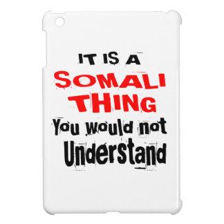 IT IS SOMALI THING DESIGNS iPad MINI CASES