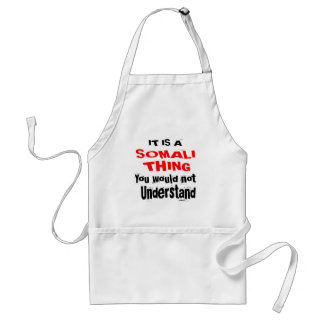 IT IS SOMALI THING DESIGNS STANDARD APRON