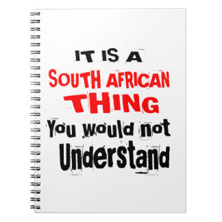 IT IS SOUTH AFRICAN THING DESIGNS NOTEBOOKS