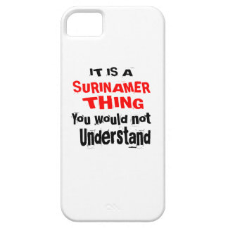 IT IS SURINAMER THING DESIGNS CASE FOR THE iPhone 5