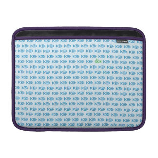 It is surrounded by enemies ON all sides. Blue MacBook Sleeve