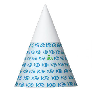 It is surrounded by enemies ON all sides. Blue Party Hat