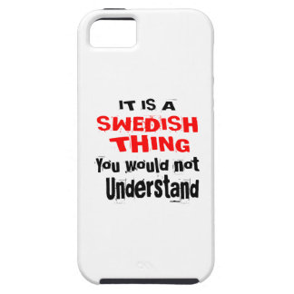 IT IS SWEDISH THING DESIGNS iPhone 5 COVERS