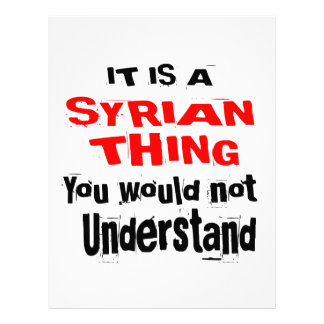 IT IS SYRIAN THING DESIGNS LETTERHEAD