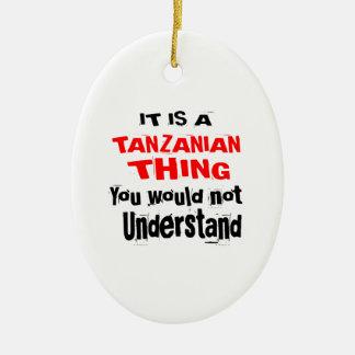 IT IS TANZANIAN THING DESIGNS CERAMIC ORNAMENT