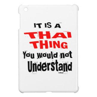IT IS THAI THING DESIGNS iPad MINI COVER
