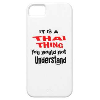 IT IS THAI THING DESIGNS iPhone 5 COVER