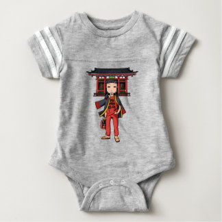 It is the celebration, it is shallow! English Baby Bodysuit