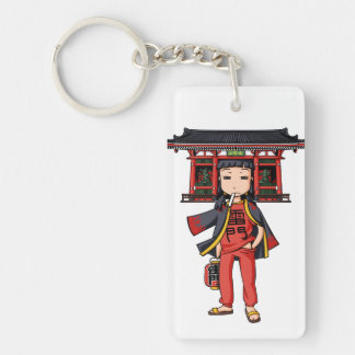 It is the celebration, it is shallow! English Keychain