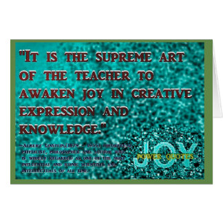 """It is the supreme... Card"