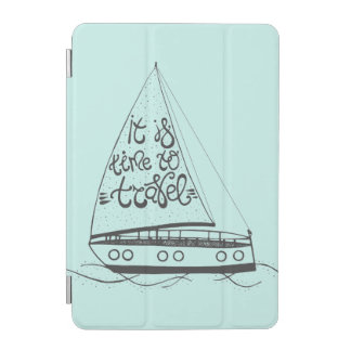 It Is Time To Travel iPad Mini Cover