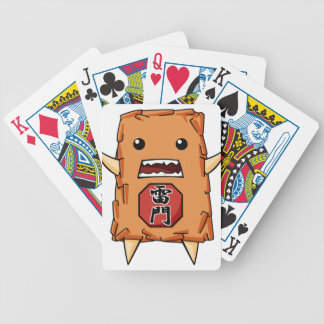 It is to cause the English story Poker Deck