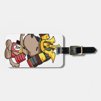 It is today, the cup English story Ota Gunma Luggage Tag