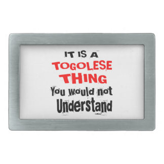 IT IS TOGOLESE THING DESIGNS BELT BUCKLES