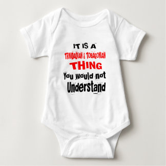 IT IS TRINIDADIAN & TOBAGONIAN THING DESIGNS BABY BODYSUIT