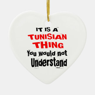 IT IS TUNISIAN THING DESIGNS CERAMIC ORNAMENT