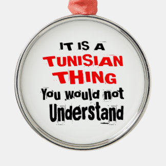 IT IS TUNISIAN THING DESIGNS METAL ORNAMENT