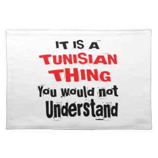 IT IS TUNISIAN THING DESIGNS PLACEMAT