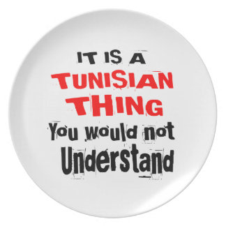 IT IS TUNISIAN THING DESIGNS PLATE
